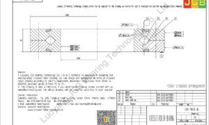 CRB 11020 UU IKO CROSSED ROLLER BEARING
