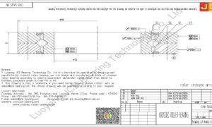 CRB 12025 UU IKO CROSSED ROLLER BEARING