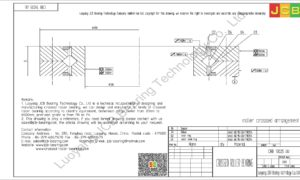 CRB 13025 UU IKO CROSSED ROLLER BEARING
