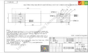 CRB 14025 UU IKO CROSSED ROLLER BEARING