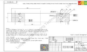CRB 15025 UU IKO CROSSED ROLLER BEARING