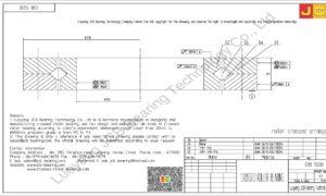 CRB 15030 IKO CROSSED ROLLER BEARING