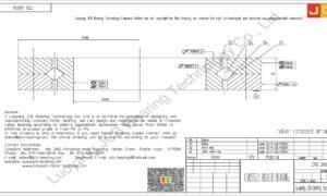 CRB 20030 IKO CROSSED ROLLER BEARING