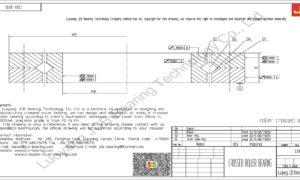CRB 3010 IKO CROSSED ROLLER BEARING