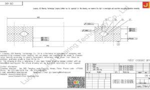 CRB 4010 IKO CROSSED ROLLER BEARING
