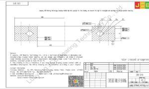 CRB 5013 IKO CROSSED ROLLER BEARING