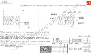 CRB 6013 IKO CROSSED ROLLER BEARING
