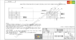 CRB 7013 IKO CROSSED ROLLER BEARING