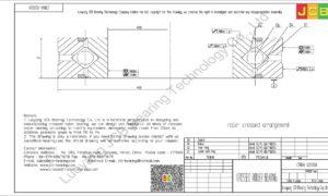 CRBA 02008 HIWIN CROSSED ROLLER BEARING