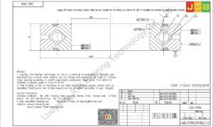 CRBA 09016 HIWIN CROSSED ROLLER BEARING