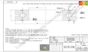 CRBA 12016 HIWIN CROSSED ROLLER BEARING