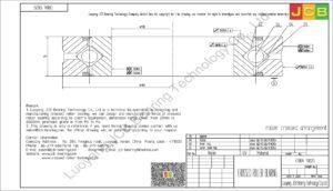 CRBA 13025 HIWIN CROSSED ROLLER BEARING