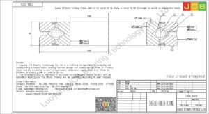 CRBA 15030 HIWIN CROSSED ROLLER BEARING