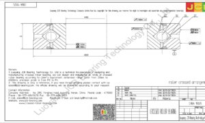 CRBA 19025 HIWIN CROSSED ROLLER BEARING