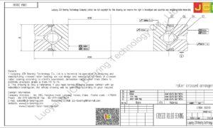 CRBA 20030 HIWIN CROSSED ROLLER BEARING