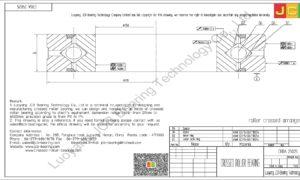 CRBA 25025 HIWIN CROSSED ROLLER BEARING