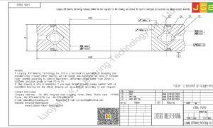 CRBA 25030 HIWIN CROSSED ROLLER BEARING