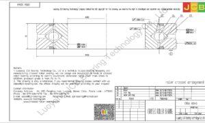 CRBA 30040 HIWIN CROSSED ROLLER BEARING