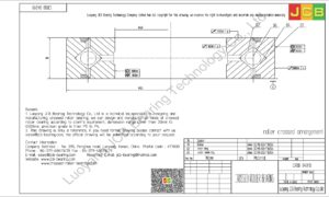 CRBB 04010 HIWIN CROSSED ROLLER BEARING