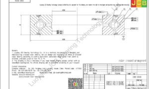 CRBB 20030 HIWIN CROSSED ROLLER BEARING