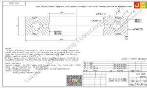 CRBB 20035 HIWIN CROSSED ROLLER BEARING