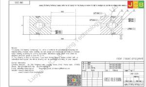 CRBB 22025 HIWIN CROSSED ROLLER BEARING