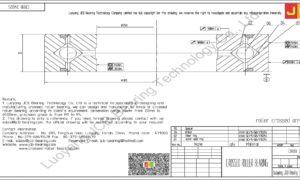 CRBB 24025 HIWIN CROSSED ROLLER BEARING