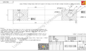 CRBB 25025 HIWIN CROSSED ROLLER BEARING