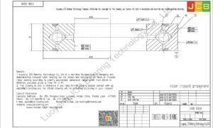 CRBB 25030 HIWIN CROSSED ROLLER BEARING
