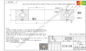 CRBC 03010 HIWIN CROSSED ROLLER BEARING