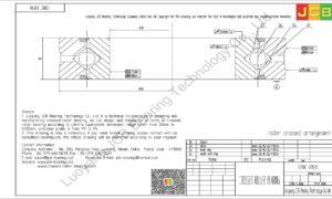 CRBC 03510 HIWIN CROSSED ROLLER BEARING