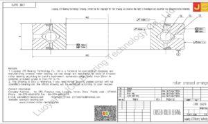 CRBC 06013 HIWIN CROSSED ROLLER BEARING