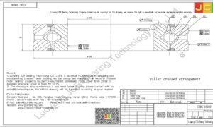 CRBC 10020 HIWIN CROSSED ROLLER BEARING