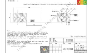 CRBC 11020 UU IKO CROSSED ROLLER BEARING