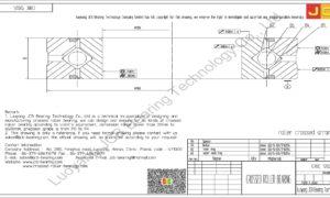CRBC 12025 HIWIN CROSSED ROLLER BEARING
