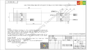 CRBC 12025 UU IKO CROSSED ROLLER BEARING