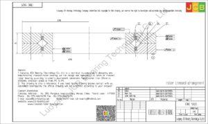 CRBC 13025 IKO CROSSED ROLLER BEARING