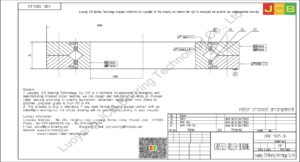 CRBC 13025 UU IKO CROSSED ROLLER BEARING