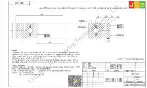 CRBC 14025 IKO CROSSED ROLLER BEARING