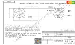 CRBC 15025 HIWIN CROSSED ROLLER BEARING
