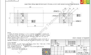 CRBC 15025 UU IKO CROSSED ROLLER BEARING