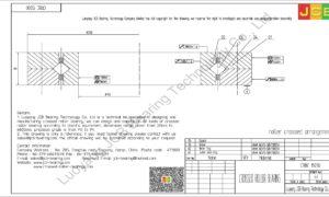 CRBC 15030 IKO CROSSED ROLLER BEARING