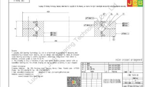 CRBC 15030 UU IKO CROSSED ROLLER BEARING