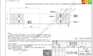 CRBC 20025 IKO CROSSED ROLLER BEARING