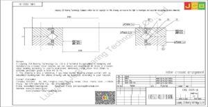 CRBC 20025 UU IKO CROSSED ROLLER BEARING