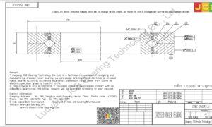 CRBC 25025 UU IKO CROSSED ROLLER BEARING