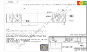 CRBC 25040 IKO CROSSED ROLLER BEARING