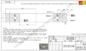 CRBC 30040 IKO CROSSED ROLLER BEARING