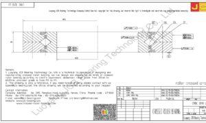 CRBC 3010 UU IKO CROSSED ROLLER BEARING