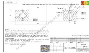 CRBC 40035 HIWIN CROSSED ROLLER BEARING